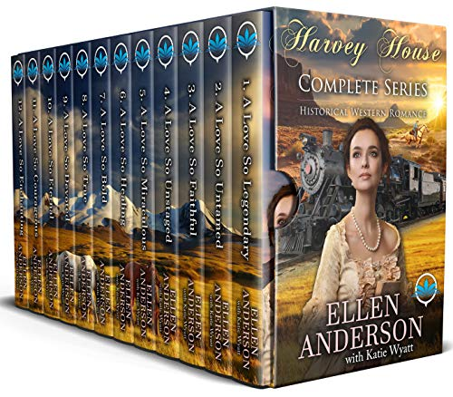 Harvey house boxed set 1 to 21