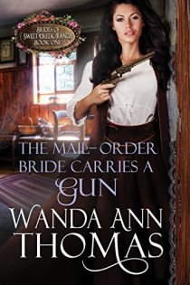 The Mail-order Bride carries a gun